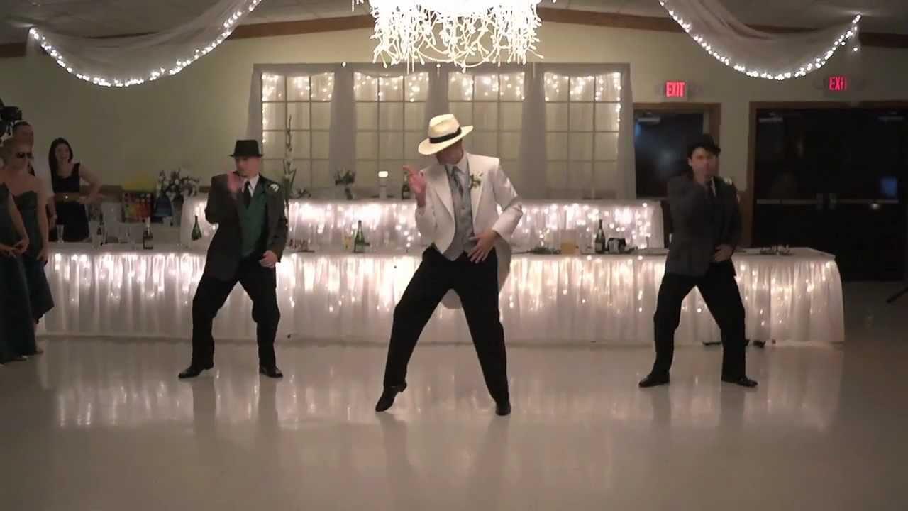 Smooth Criminal: Jeff Loehrke Wedding Dance   YouTube