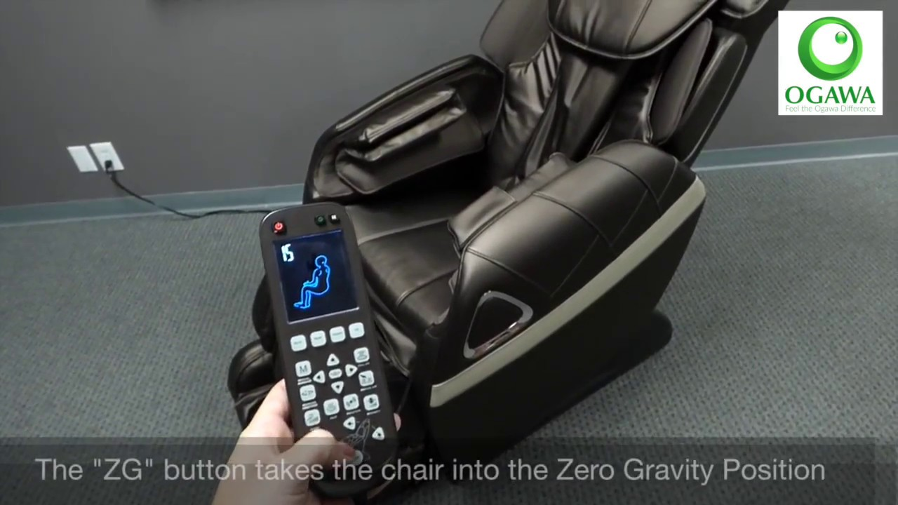 Ogawa Refresh Mage Chair Remote Operation Video