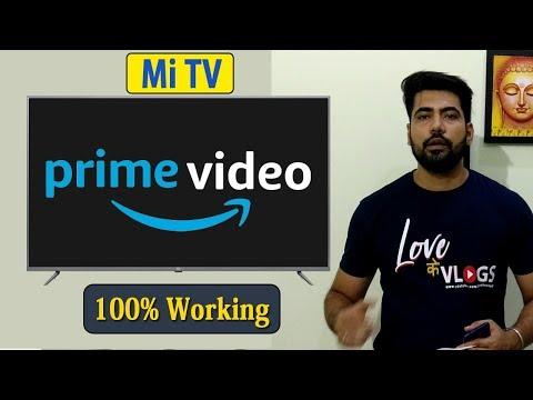 Amazon Prime Videos On Mi TV 4A Pro - Install & Play