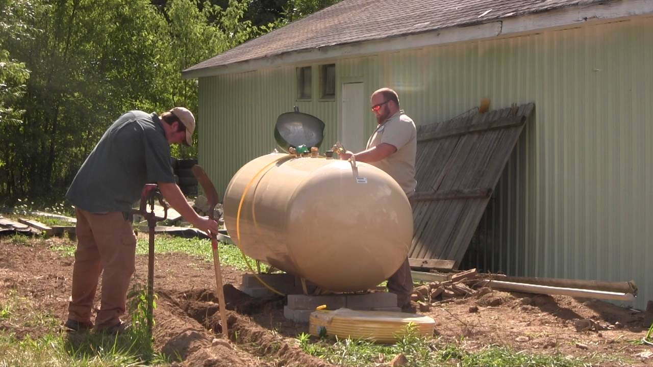 Line propane to house tank Where Can