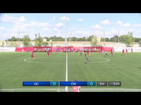 2017 Canada Summer Games - Men's Soccer - Quebec vs. Ontario