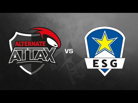 ALTERNATE aTTaX vs. EURONICS Gaming - Finale, ESL Wintermeis