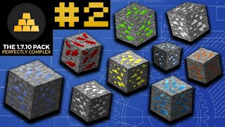 Getting New ORE TYPES! - Minecraft 1.7.10 ModPack #2