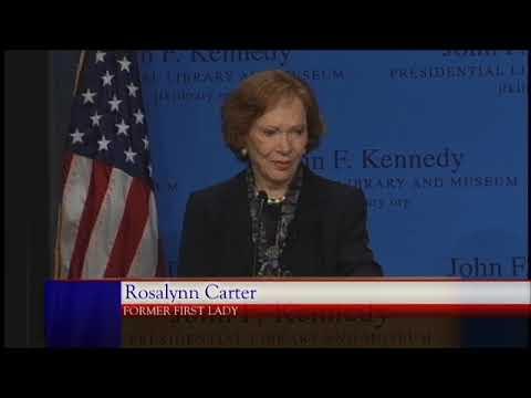 Rosalynn Carter on the Mental Health Crisis