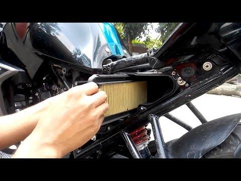 Yamaha Fazer/FZ/Fz16 and ane Yamaha Bike air filter check and change