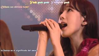 Gambar cover Girls Generation All my love is for you live  Tercer Tour Japan  Español