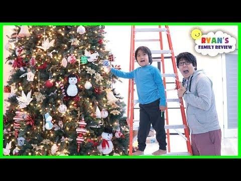 We put up a Giant Christmas Tree for Christmas!!!