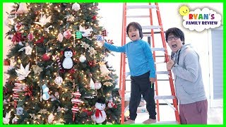 We put up a Giant Christmas Tree for Christmas!!!