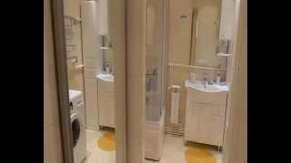 Санузел в большом доме(Дом из бруса, обшит блок-хаусом. Строительство было закончено и дом заселён в 2010 году. Окна - стеклопакеты...., 2013-06-05T09:52:12.000Z)