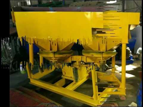 High recovery rate gold concentrate mineral jig concentrator