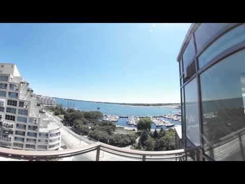 500 queens quay penthouse tour! (360 video)