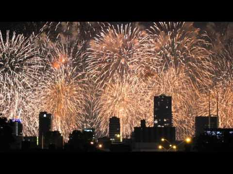Australia Day Skyworks 2016 - Perth, WA
