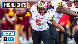 Highlights: Anthony McFarland Declares For 2020 NFL Draft   Maryland   B1G Football