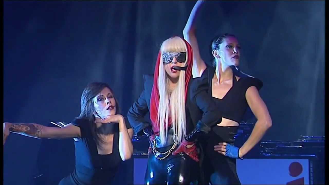 Lady Gaga Just Dance 2008 Nrj Music Tour Youtube