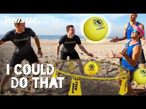 Team USA Volleyball Vs. PRO Spikeball Team!