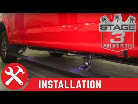 2015-2016 F-150 AMP Research PowerStep Plug N Play Running Boards Install
