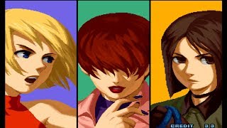 [ARCADE] The King of Fighters 2002 - Girls - Single Play (Expert) [TAS]