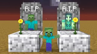 Monster School : Sad Life of ZOMBIE - Very Sad Story - Minecraft Animation