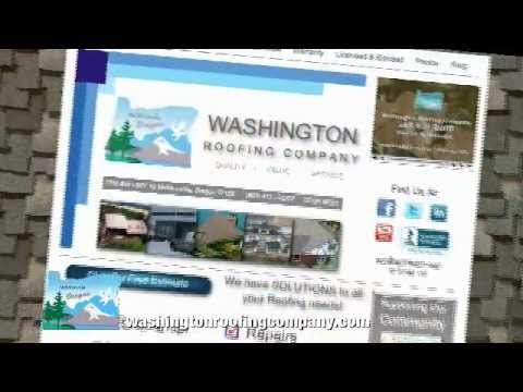 Washington Roofing Company In HD
