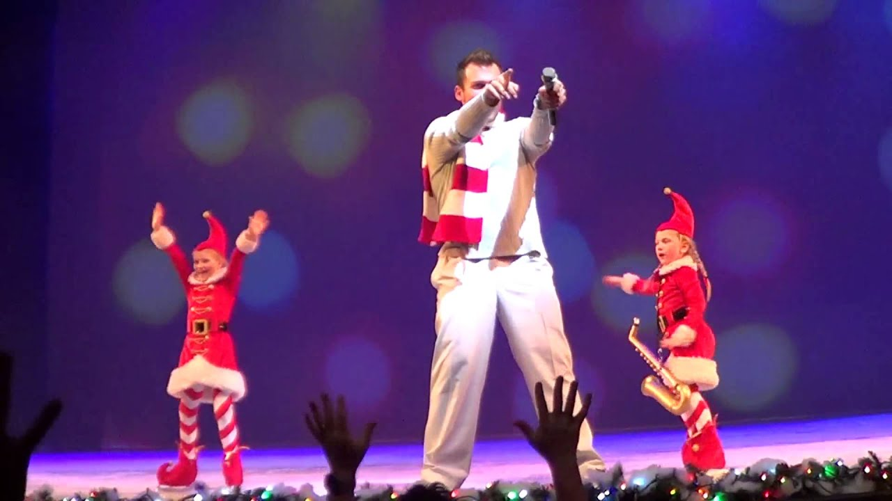 christmas on ice alt version busch gardens tampa in hd youtube
