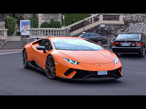 SUPERCARS in MONACO 2021 -35- ( TDF, Perfomante, Pista Spider, GT2RS, Challenger, 812GTS...)