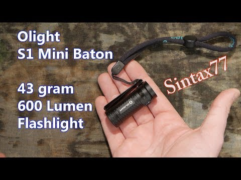Olight S1 Mini Baton Review - My Go-to Flashlight for Ultralight Backpacking