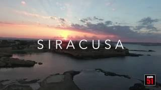 "Drone ""Siracusa from sunrise to sunset"""