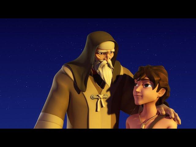 Superbook - A próba, amerikai animációs film magyar szinkronnal