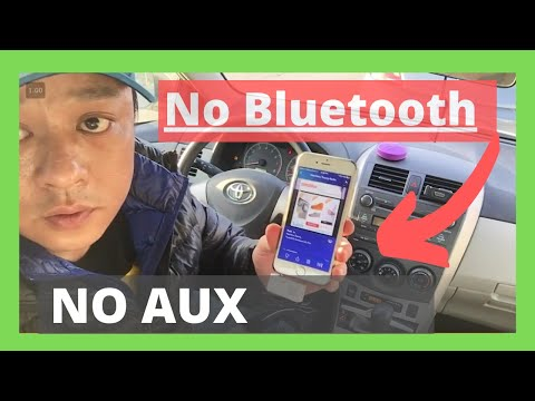 How to Play Music in Your Car without an AUX cord or Bluetooth