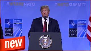 Die Einwanderung übernimmt Europa: Trump warnt vor zu lascher Flüchtlingspolitik - Video