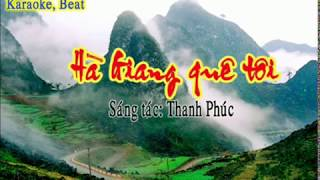 Hà Giang quê tôi Karaoke