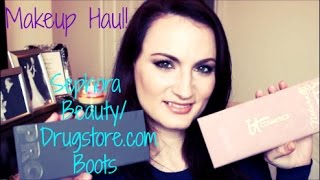 Makeup Haul! Sephora, Beauty/Drugstore.com, and Boots! Thumbnail
