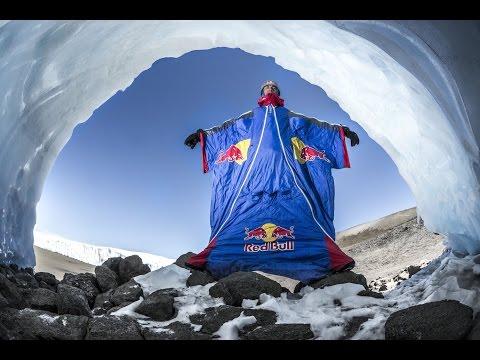 Wingsuit Flight Base Jump Kilimanjaro GoPro HD Red Bull