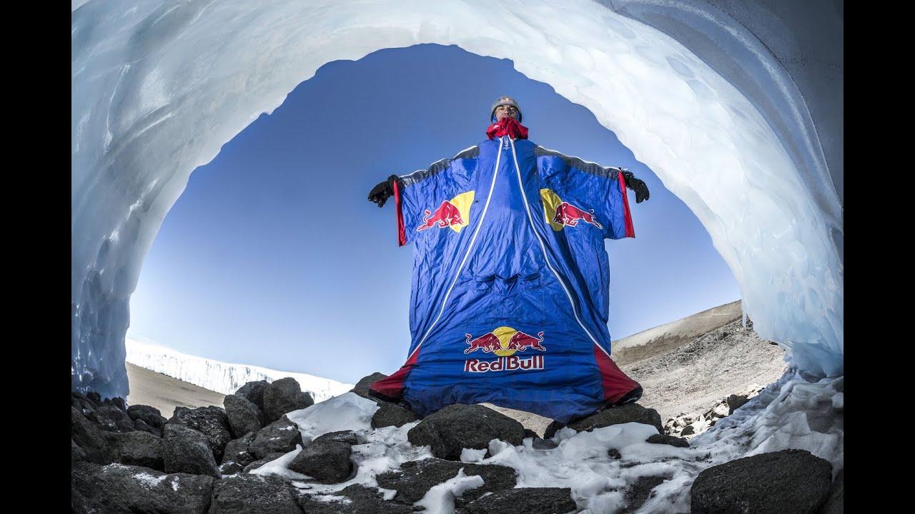 Wingsuit Flight Base Jump Kilimanjaro GoPro HD Red Bull - YouTube