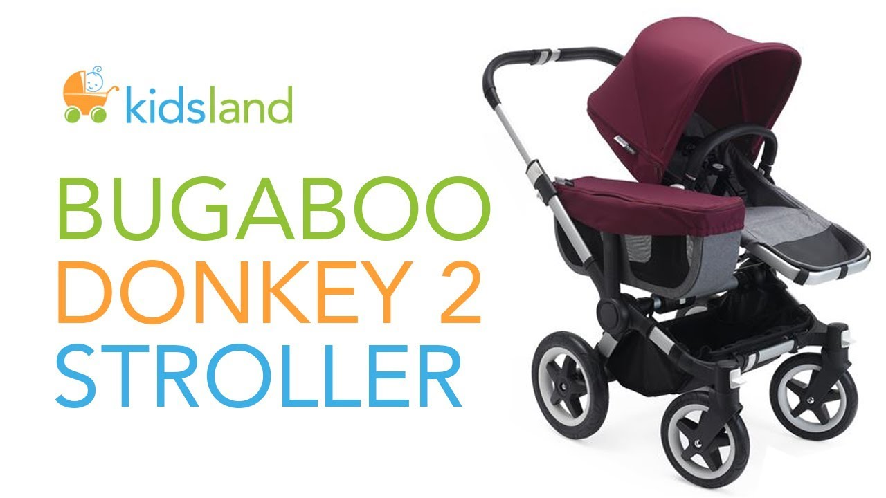 2018 BUGABOO DONKEY 2 Stroller // REVIEW // Introduction Guide by Kidsland
