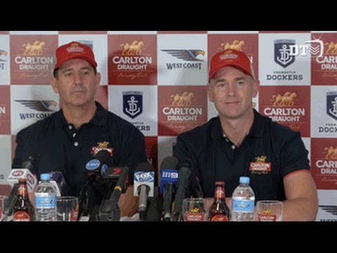 Rd 3: Carlton Draught Derby full media conference