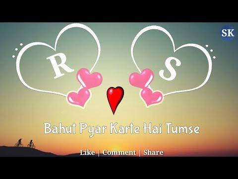R Love S Letter Whatsapp Status R S Name R S Naam R S