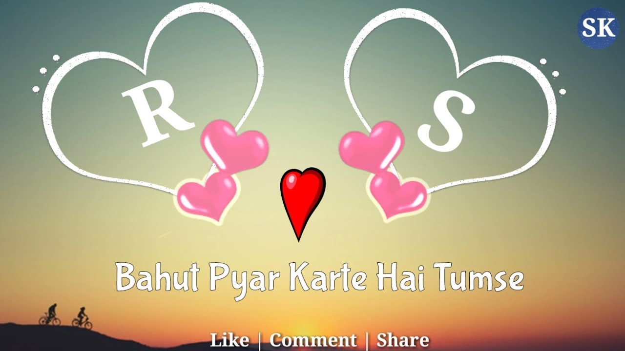 R Love S Letter Whatsapp Status Rs Name Rs Naam Rs Alphabet R Love S Whatsapp Status