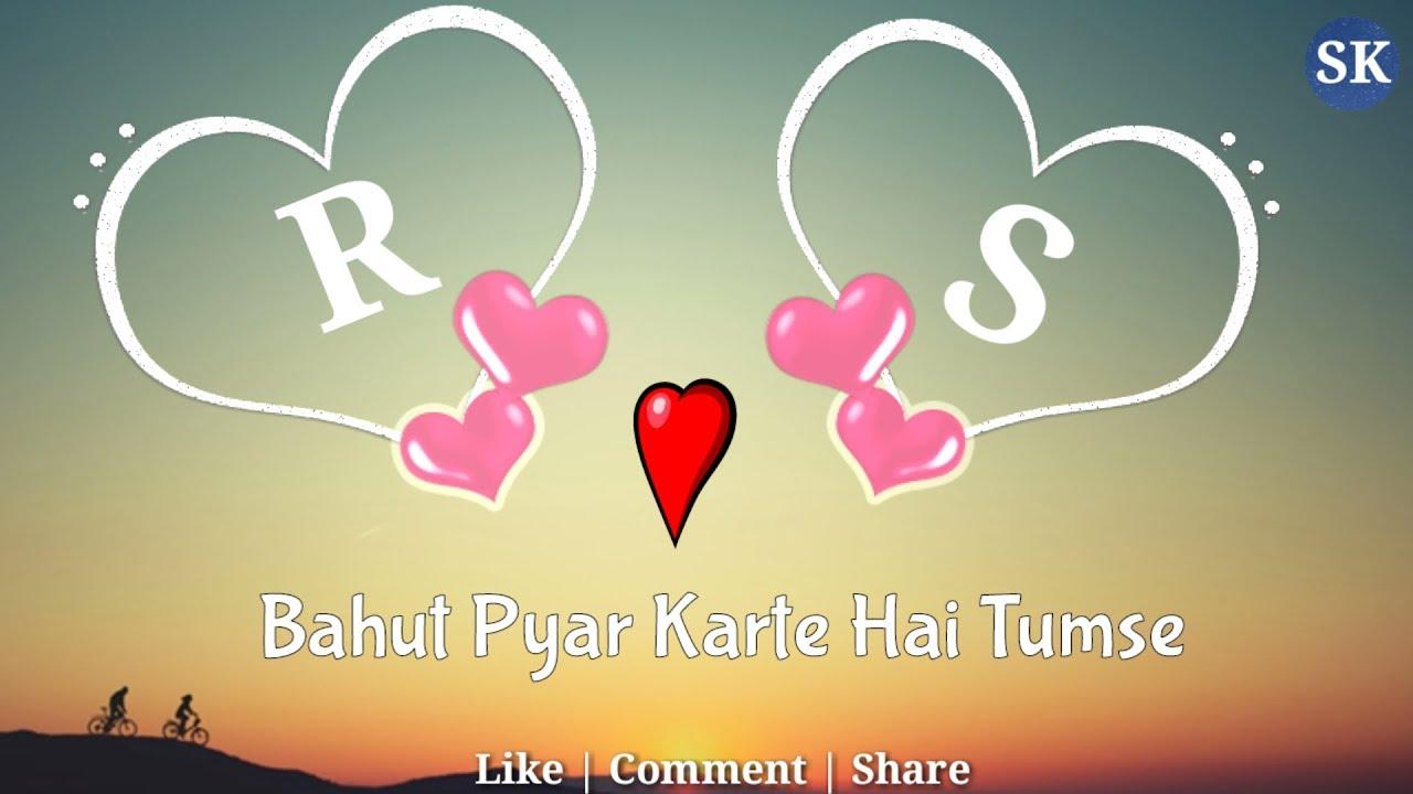 R S Love Whatsapp Status R Alphabet Status Rs Status Rs Name Status Rs Latter Status Sad Song