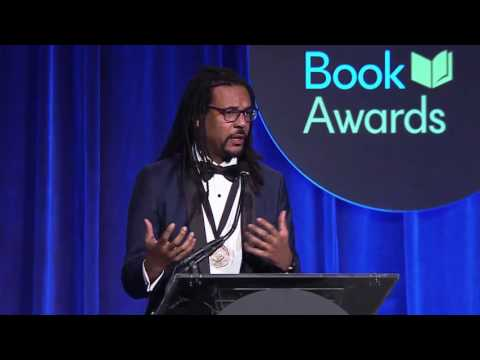 2016 National Book Awards - Colson Whitehead win for Fiction  (Highlight)