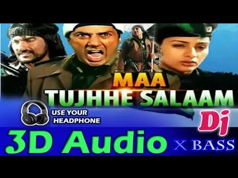 3D Audio || Maa tujhhe salam || Deshbhakti song || 3d song - Arvind3DSong