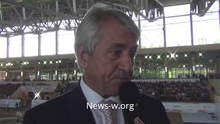Klaus Schormann (UIPM) @ Kremlin Pentathlon Cup / Клаус Шорманн на Кубке Кремля 3.09.2017
