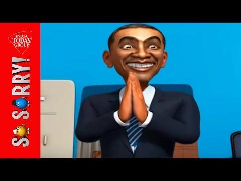 Modi sings 'America se aaya mera dost', welcomes Obama