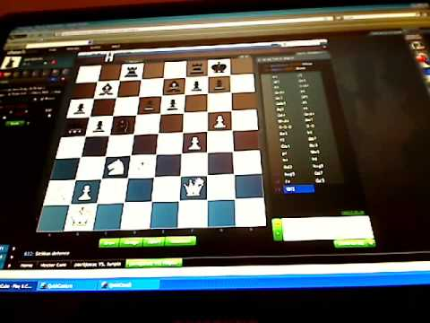 Dejan plays rapid chess, 1 minute per game tempo.
