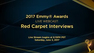 Red Carpet Interviews - Live Webcast 2017 Emmy® Awards Video