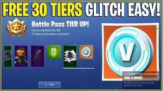 *NEW* HOW TO GET 35 FREE BATTLE PASS TIERS RIGHT NOW! *BUG* | (Fortnite)