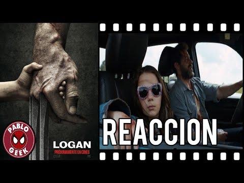 Reaccion al Trailer De: LOGAN