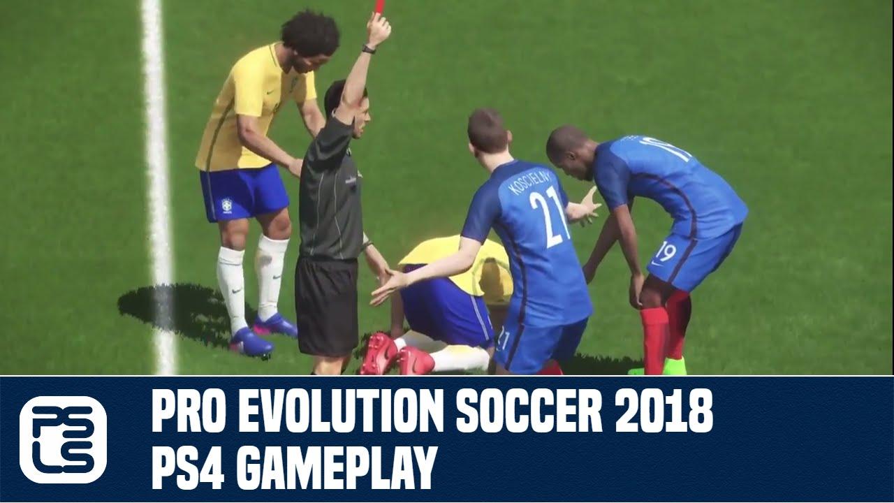 Pro Evolution Soccer 2018 Online Preview (PS4) - PSLS