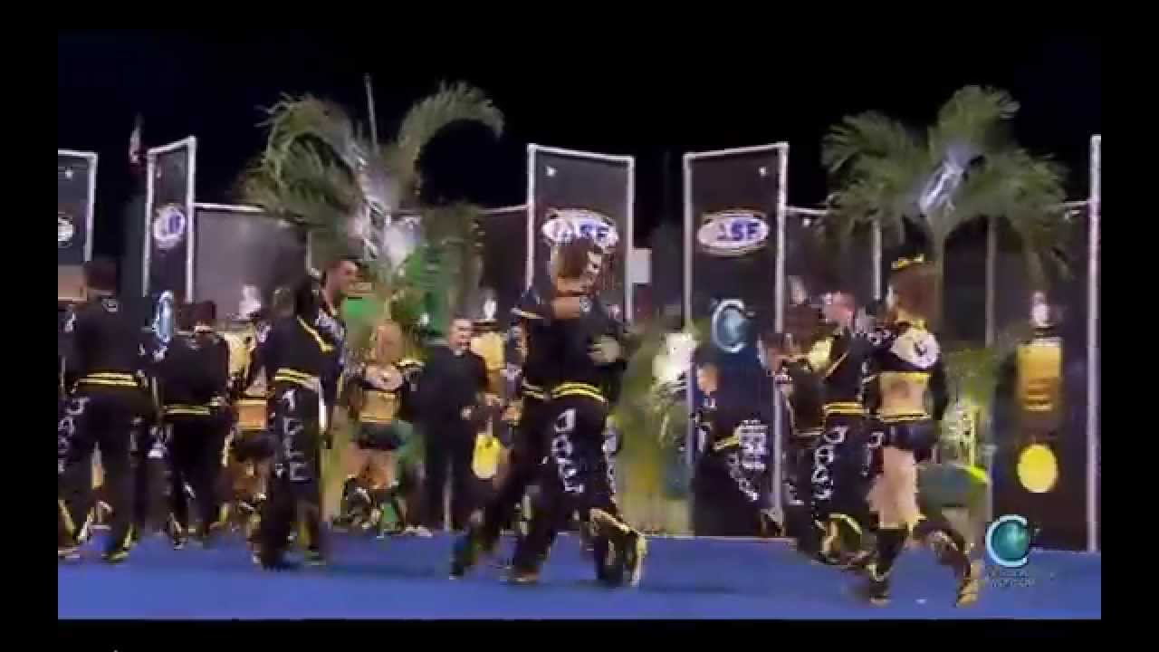 Top Gun All Stars - Large Coed [2014 Senior Large Coed Finals] MultiCam
