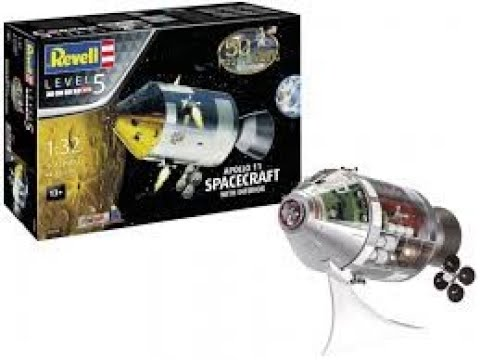 sprue-review.-revell-1/32-apollo-11-spacecraft-with-interior